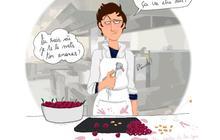 La cuisine pour les nuls – Le Dessin de Caroline