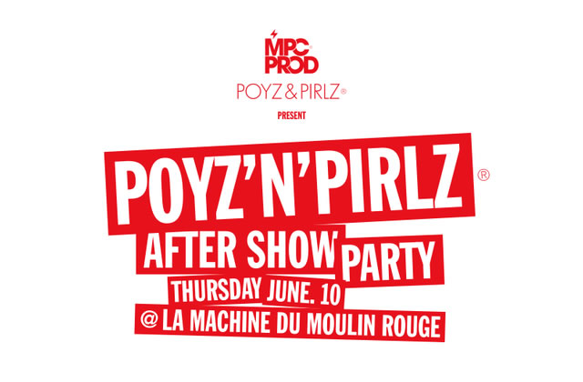Ce soir : Poyz'n'Pirlz special After Show Party