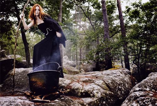 witch Jai testé pour vous, être une rousse