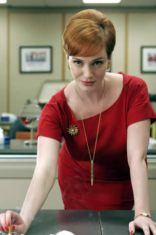 vie de meuf mad men christina hendricks