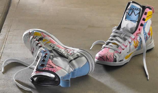 basquiat Collection Basquiat pour Reebok Automne Hiver 2010