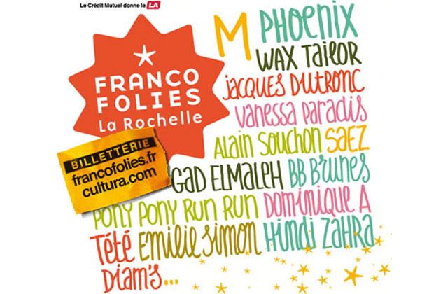 Les Francofolies de la Rochelle : le programme