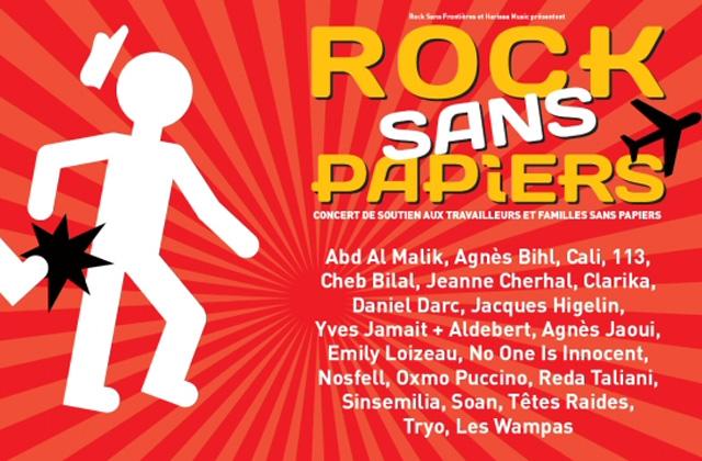 Concerts Rock Sans Papiers le 18 Septembre 2010 à Paris