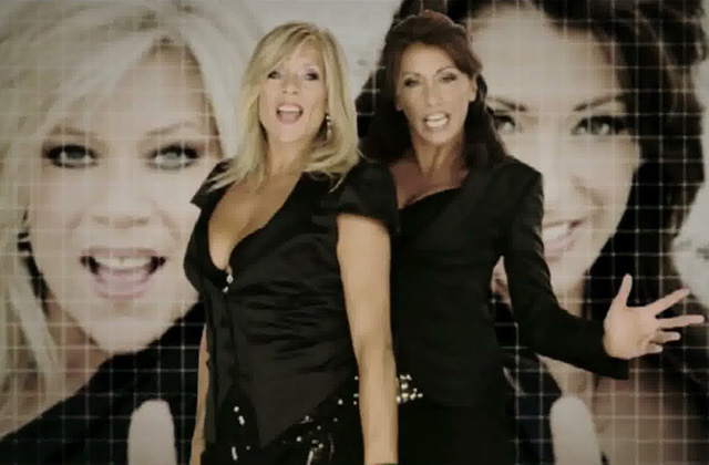 Samantha Fox et Sabrina reprennent « Call me »
