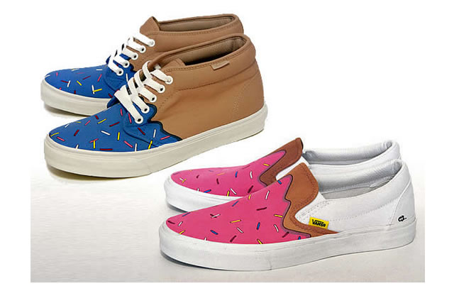 Les Vans Donuts : Me Likey !