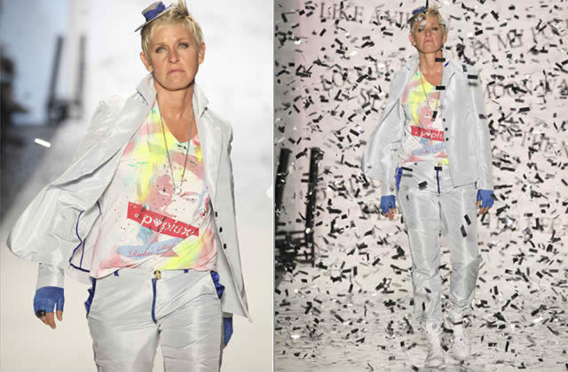 ellen degeneres fashion week