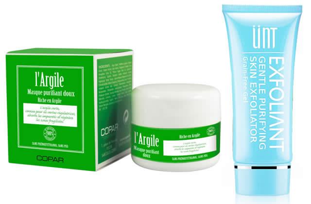 Sélection de gommages pour le visage gommages peau sèche et sensible