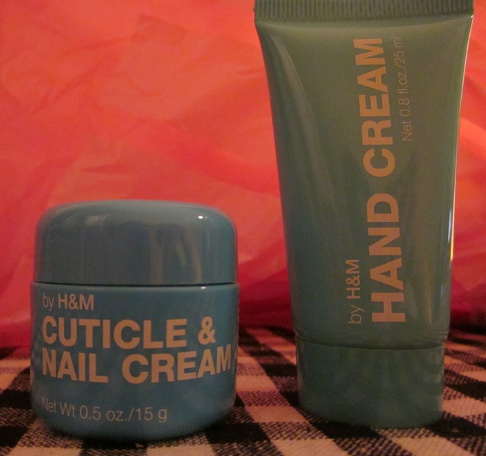 hand cream H&M cuticlea