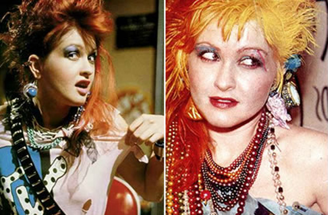 Get the look : Cyndi Lauper