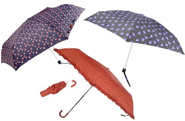 Parapluies à pois