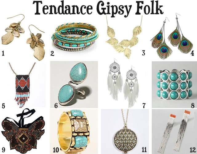 Tendances Bijoux automne hiver 2010/2011 tendances bijoux 2010 2011 gipsy folk