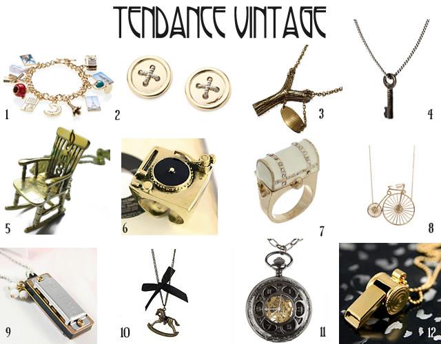 tendances bijoux 2010 2011 vintage
