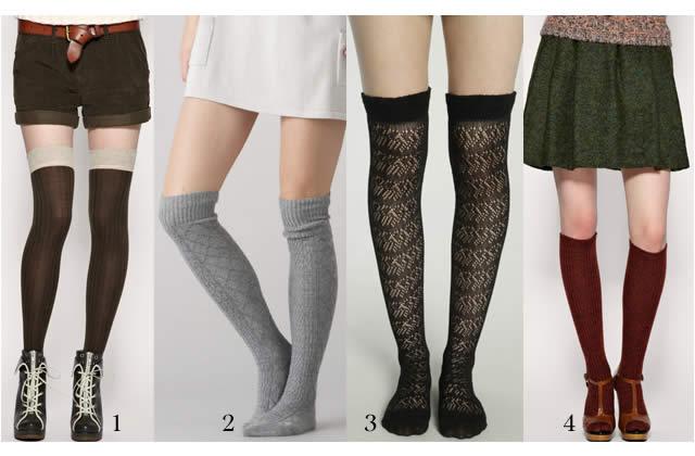 tendances chaussettes automne hiver 2010 2011