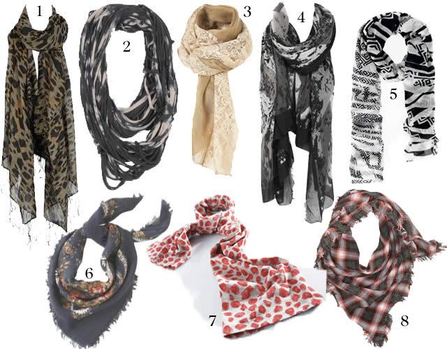 tendances foulards automne hiver 2010 2011