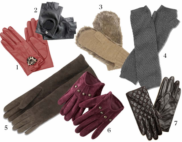 tendances gants automne hiver 2010 2011
