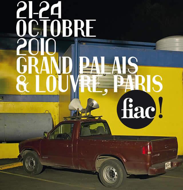 FIAC 2010 affiche
