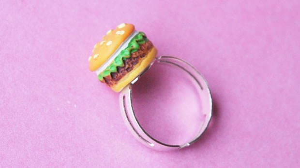 bague hamburger