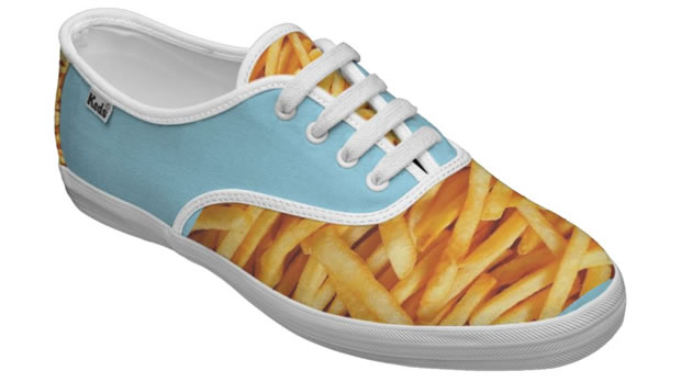 baskets chaussures frites