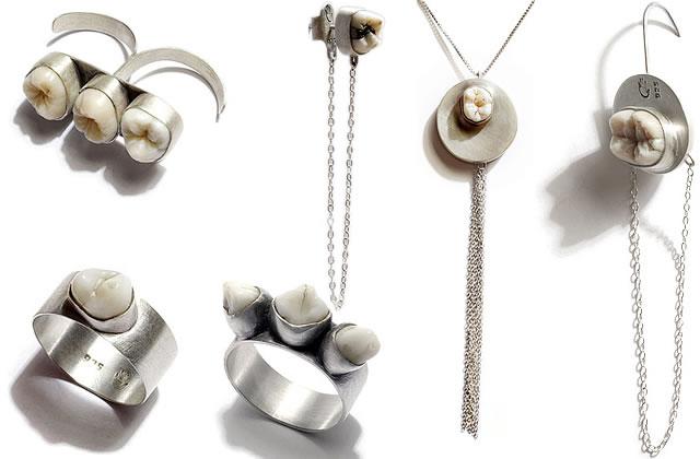 Les bijoux dentés de Polly Van Der Glass bijoux dent polly Polly Van Der Glass