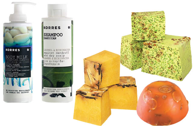 cosmetiques vegan lush korres
