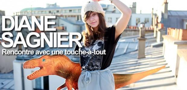 Diane Sagnier, son Street Style sur les toits de Paris