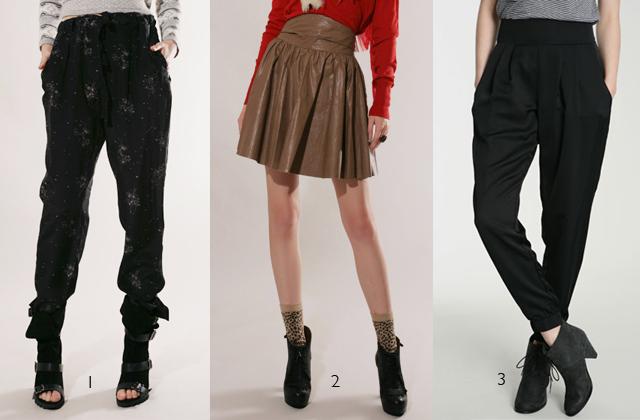 pantalon jupe
