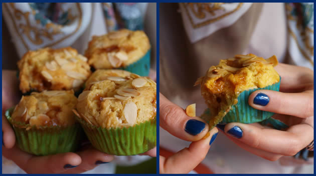 recette muffin chococlat blanc caramel