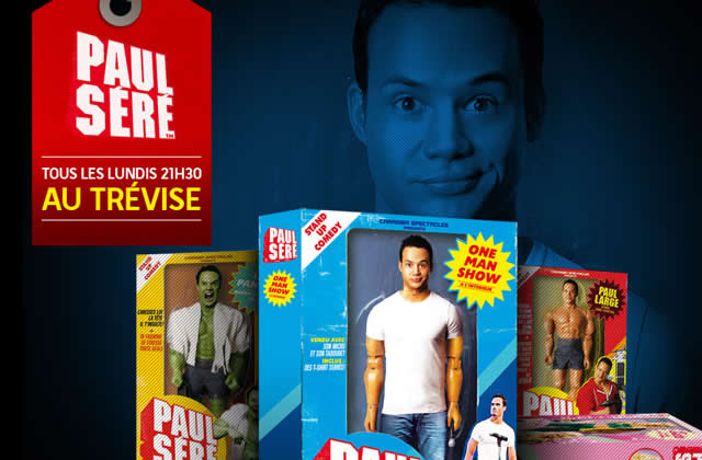 Paul Séré, du LOL au Théâtre de Trévise tous les lundi