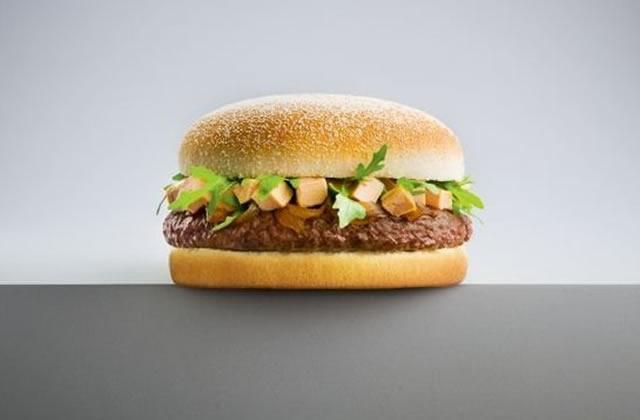 Quick lance le hamburger au foie gras