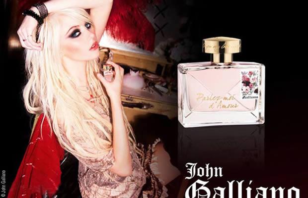 taylor momsen john galliano parfum