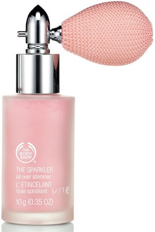 the body shop lait scintillant