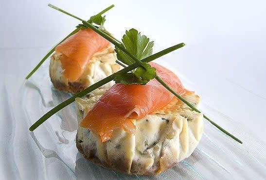 cheesecake saumon