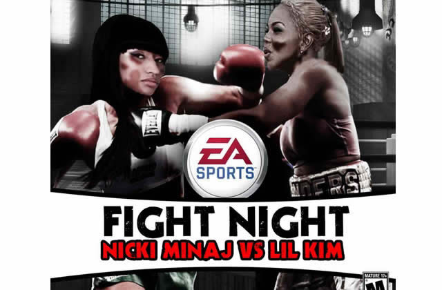 Lil Kim VS Nicki Minaj : FIGHT !