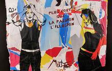 Exposition Miss.Tic, A la Vie à l'amor à la Galerie W Paris