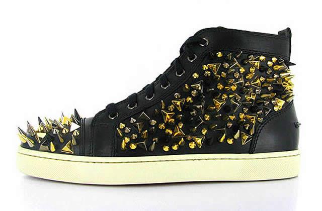 Les sneakers pointues de Christian Louboutin