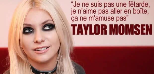 Taylor Momsen n'est pas celle que vous croyez