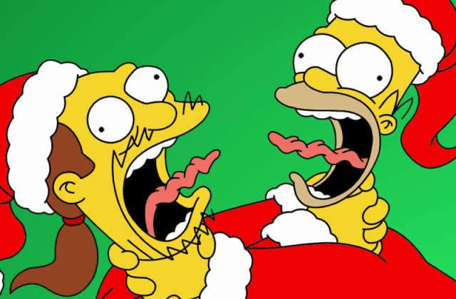Top 5 des épisodes de Noël des Simpsons