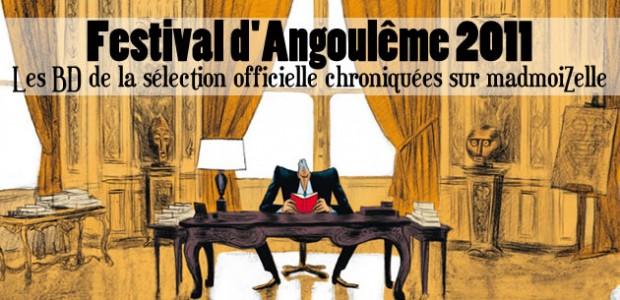 Festival d'Angoulême 2011 : les BD de la sélection officielle chroniquées