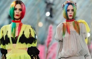 Lien permanent vers Les cheveux technicolor