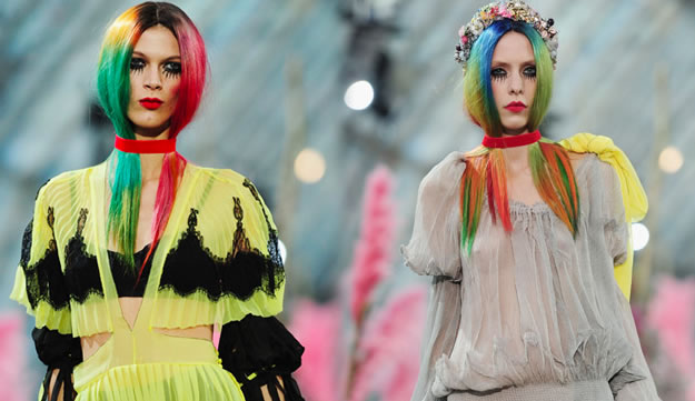 cheveux technicolor MeadhamKirchhoff printemps été 2011