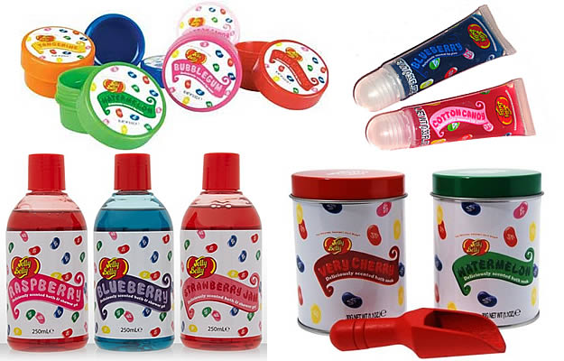 jelly belly bain douche gloss