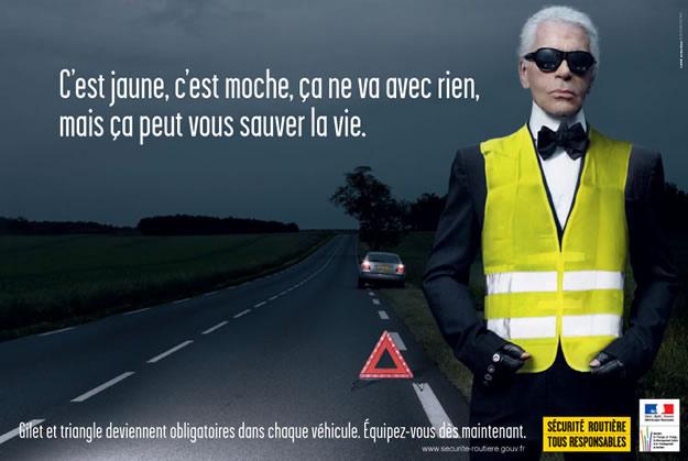 karl lagerfeld sécurité routière Karl Lagerfeld, une vie, une oeuvre
