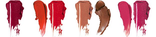 rouges à lèvres foncés
