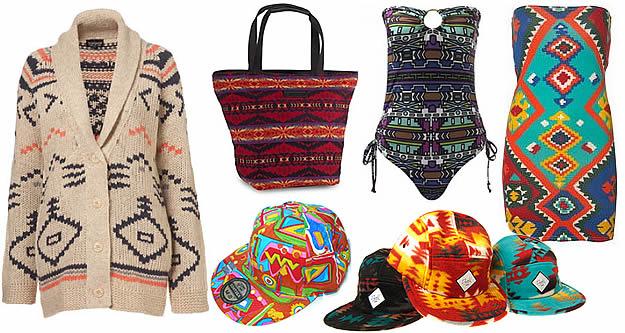 tendance azteque navajo