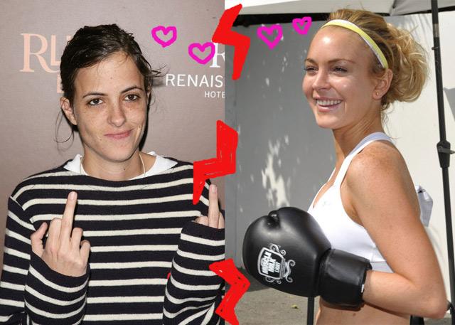 Lindsay Lohan emménage la porte à côté de son ex sarolilo