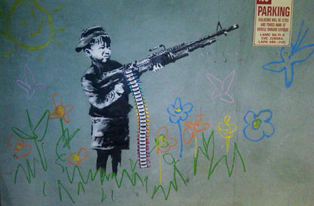 Banksy est à Los Angeles
