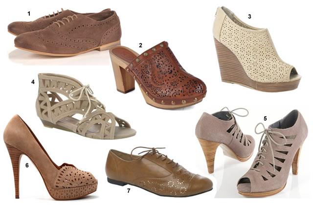 chaussures ajourées Les chaussures ajourées, la tendance des ptits trous