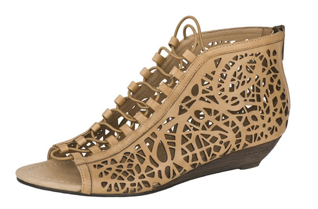 Les chaussures ajourées, la tendance des p'tits trous