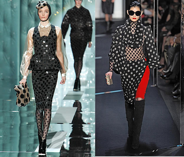 defilé  marc jacobs fashion week 2011 2012