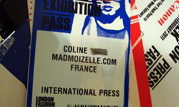 fashion week londres coline